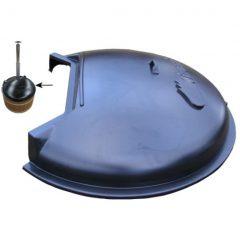 Пластмассовая крышка для купелей d170см с печью SUB/SIDE, часть для купели