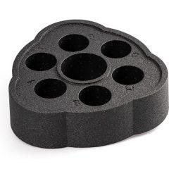 Плавающая подставка для напитков Tubbar 2, угольно-черная