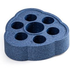 Плавающая подставка для напитков Tubbar 2, изумрудно-синяя